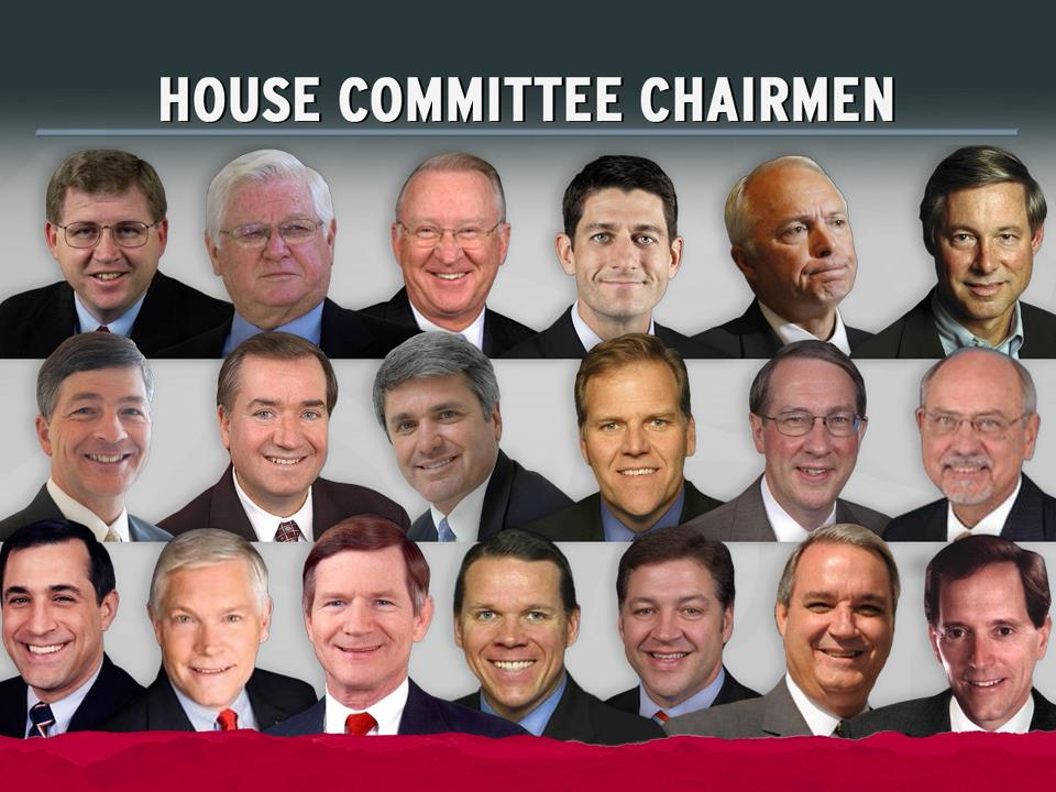 Non-partisan Women's Organization Blasts House Republicans for All Male Chairmen