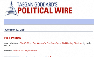 Pink Politics Announced on The Political Wire