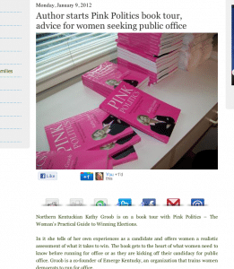 Pink Politics Featured on KY Forward