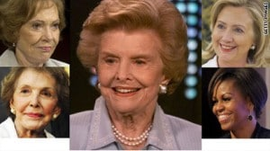 First Ladies to Honor Betty Ford