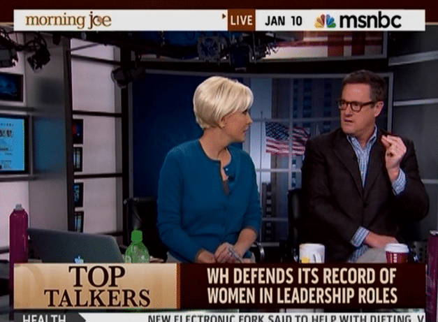 "Viewers take Morning Joe to task for ""bullying"" Mika"