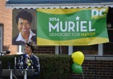 Muriel Bowser Kicks Off Campaign for D.C. Mayor