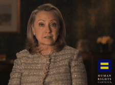 Video Announcement: Hillary Clinton Announces Support For Gay Marriage