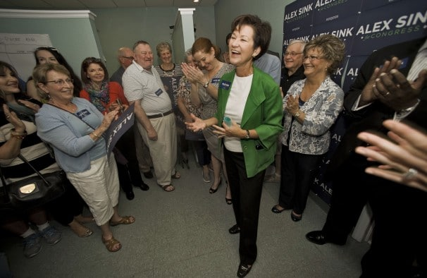 History says Alex Sink should have the edge in Fla. special election