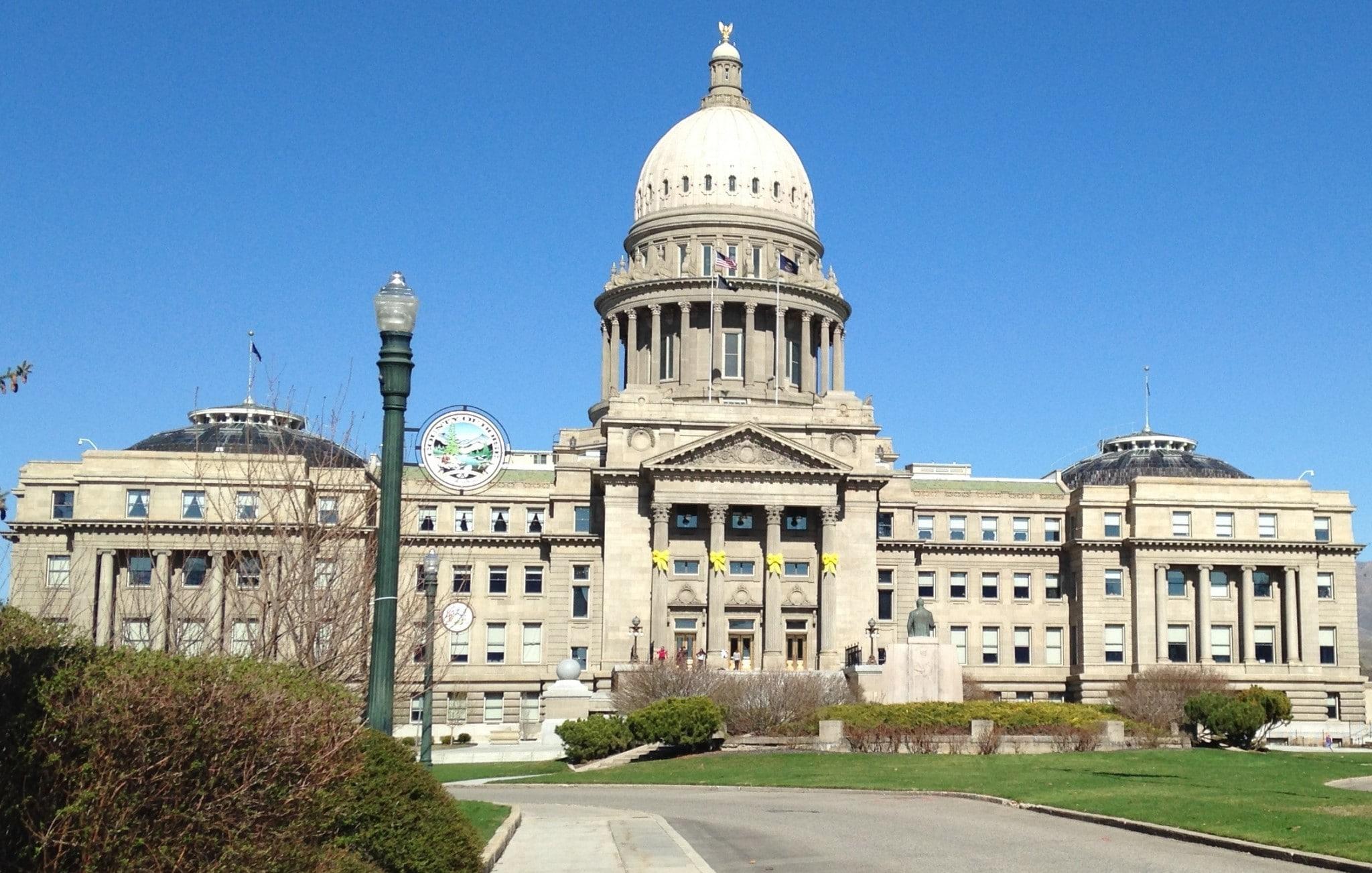Beautiful Idaho State Capitol
