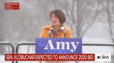 Senator Amy Klobuchar Announces Bid for President