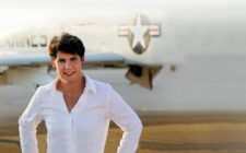 Retired Marine Amy McGrath goes after Senate giant Mitch McConnell